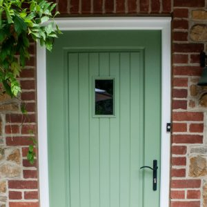 Re-finished uPVC door.